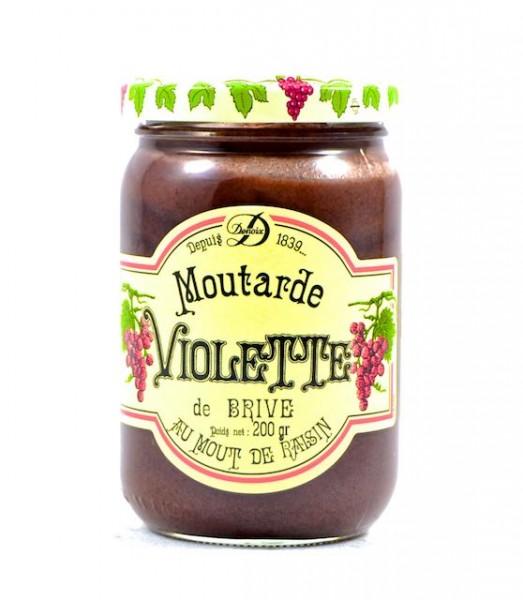 Violetter Senf / Moutarde Violette de Brive