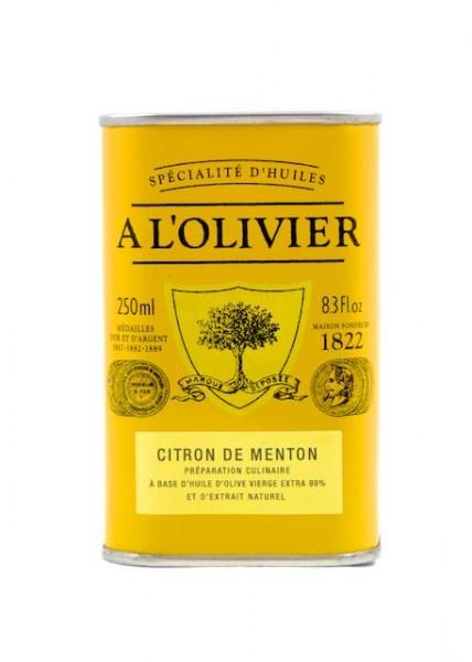 Olivenöl mit Zitrone