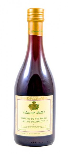 Rotweinessig mit Schalottensaft