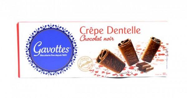 Crêpe Dentelle Chocolat Noir